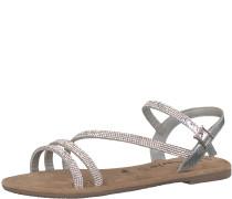 'Disco' Sandale silber