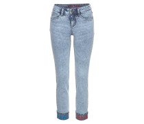 Jeans 'Turn up' blue denim