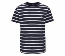 T-Shirt »Breton Stripe« blau / weiß