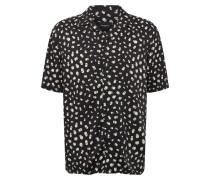 Hemd 'chemise' schwarz / weiß