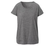 Rundhals-T-Shirt 'elegant Melange'