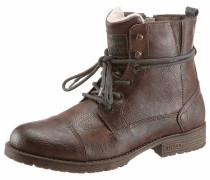 Shoes Winterstiefel dunkelblau / braun