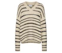 Pullover 'Hedvig v-n 10413' beige