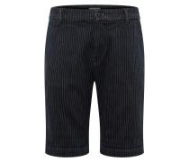 Shorts 'Imalam' nachtblau / weiß