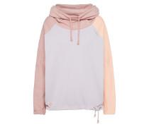 Hoodie pastelllila / pastellorange / rosa