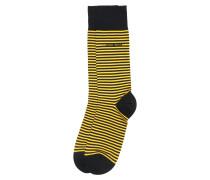 Socken 'Marc' gelb / schwarz