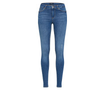 Skinny Jeans 'pcfive Delly B181' blue denim