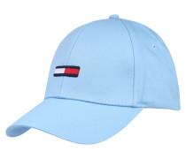 Cap mit Logo-Flag hellblau