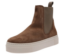 Plateaustiefelette 'Marie' chamois / offwhite