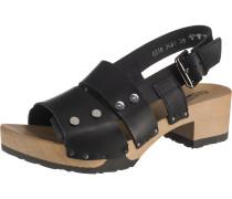 Sandaletten 'Pamela' schwarz