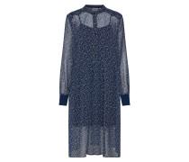 Kleid 'Daisy' dunkelblau / weiß
