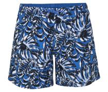Badehose 'Leaffish' blau