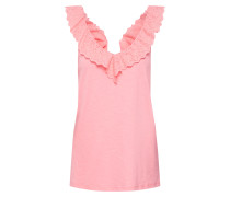 Top 'Ruffle' pink