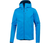 Softshelljacke 'Ultimate V' himmelblau