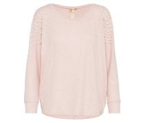 Pullover mit Zierperlen rosa