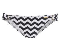 Bikini-Hose 'Grace' schwarz / weiß