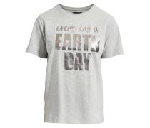 T-Shirt 'Lovely Day' grau