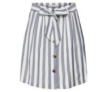 Rock 'viharper Skirt' taubenblau / weiß