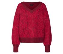 Pullover 'gaba' pitaya / kirschrot