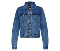 Jacke 'Viva Trucker Jacket' blue denim