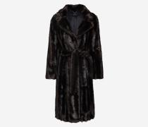 Mantel kastanienbraun