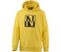 Hoodie gelb / schwarz