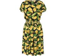 Kleid gelb / grün / schwarz