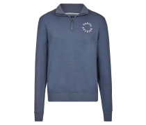 Ath'Leisure Sweat-Troyer royalblau