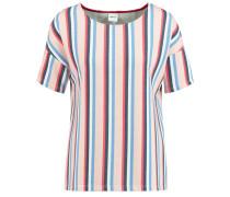 Shirt hellblau / altrosa / weiß