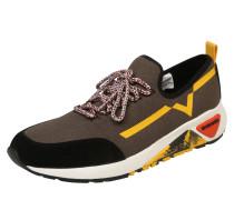 Sneaker 's-Kby' gelb / oliv / schwarz