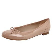 Ballerina 'Couture bloom' mit Schleife nude