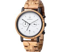 Uhr 'Johann Olivewood'