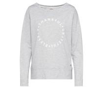 Sweatshirt 'dortje CAS LW' hellgrau
