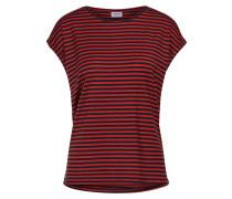T Shirt blau / rot