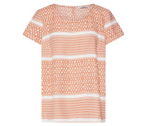 46a566d36f4a44 Bluse  athena  dunkelorange   weiß. only