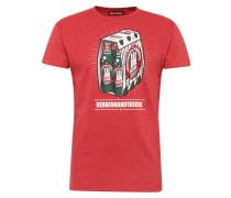 Shirt 'Herrenhandtasche Reloaded' rot