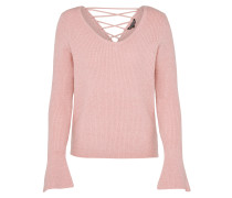 Pullover 'lace' rosa