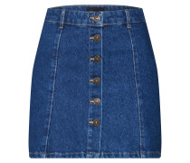 Rock 'onyMACHINE Button Denim Skirt'