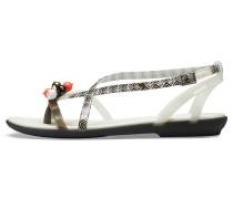 Sandalette 'Drew X Isabella' schwarz / weiß