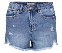 Mom Shorts blue denim