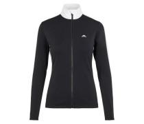 Pullover 'Loa' schwarz / weiß