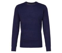 Pullover 'mk-230Neutronf' blau / indigo