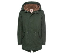 Jacke 'Classic hooded parka with teddy lining'