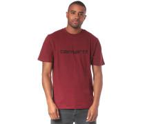 Script T-Shirt rot