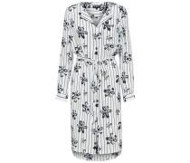 Kleid enzian / hellblau / weiß