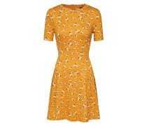 Kleid '20.04 WW Print S/tch Seam F+F Sslv P161'