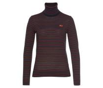 Pullover nachtblau / koralle