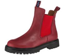 Chelsea Boots rot / dunkelrot