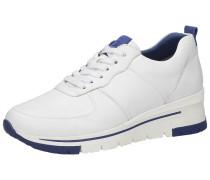 Sneaker weiß / blau