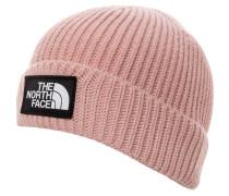 Beanie 'Logo Box Cuffed' pink